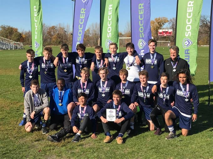 ISC U17 Boys Win State Cup