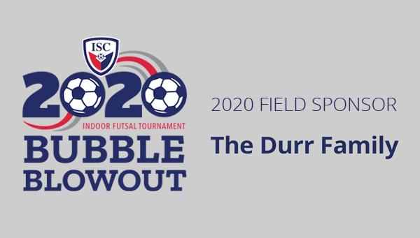 Iowa Soccer Club | Bubble Blowout 2019 Field Sponsor